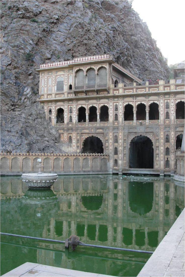 Galta Monkey Temple in Jaipur, India - Imgur