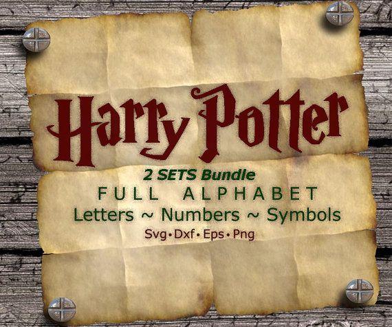 Police Harry Potter bundle svg svg de Harry Potter par kArtPrints
