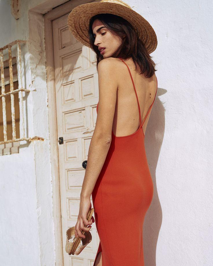 #nanushka AYA Knit Dress, Red