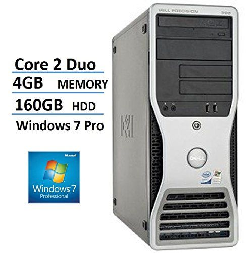 cool 2017 Dell PRECISION 390 MiniTower (MT) High Performance Business Desktop Computer, Intel Core 2 Duo Processor, 4GB RAM, 160GB HDD, DVD, Windows 7 Professional 64 Bit (Certified Refurbished)