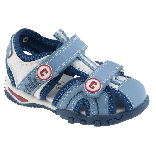 Chicco Cesar Toddler Shoes - Blue, Size 7