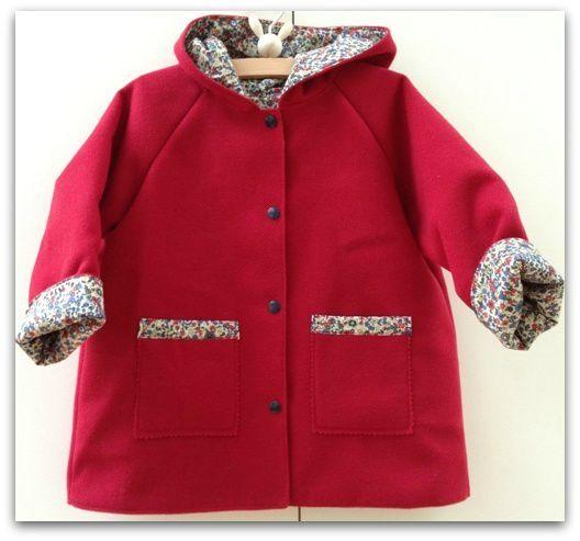 Manteau rouge liberty