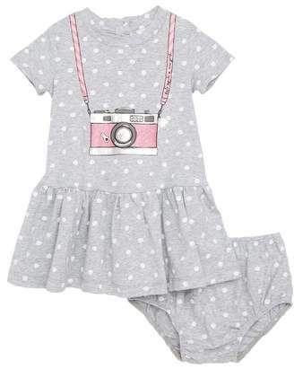 bf57a2d1053c Kate Spade camera polka dot dress | Baby stuff | Baby girl dresses ...