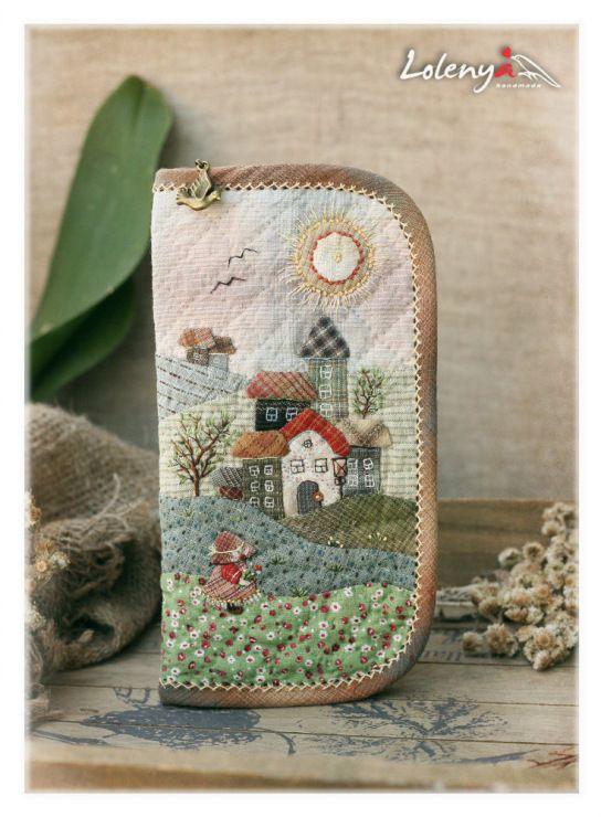 :: Crafty :: Quilt :: Patchwork :: Gallery.ru / Фото #38 - Большие кошельки - lolenya