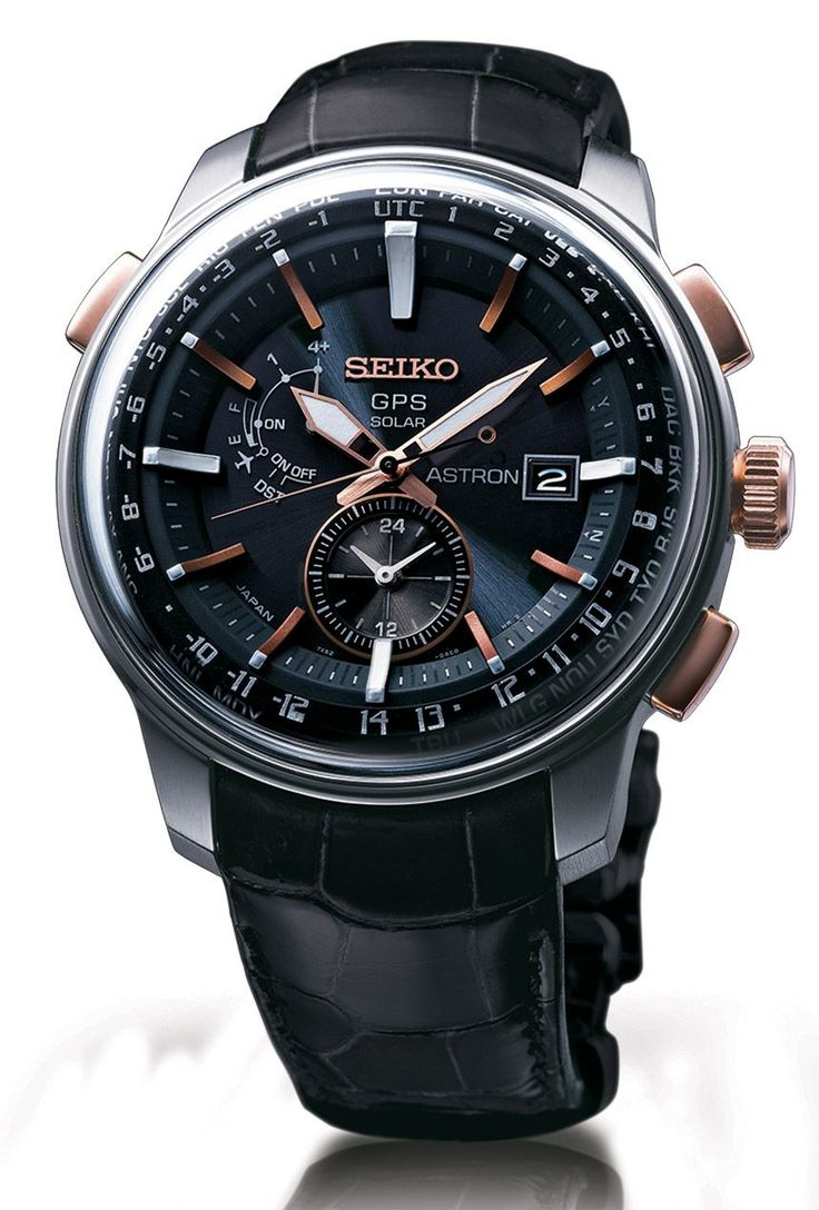 Seiko Astron Solar GPS Watch New Design Added For 2014 Watch Releases #watchesformen