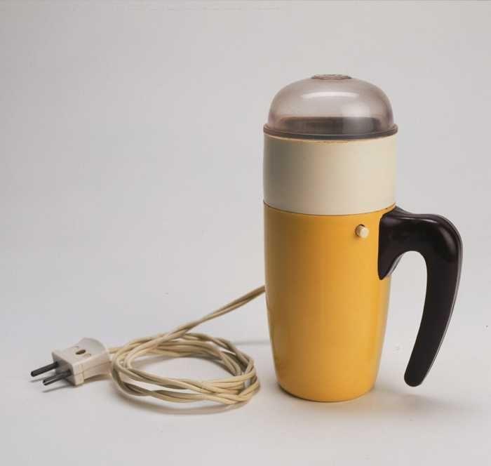 Als je deze ziet bijna het geluid horen en de gemalen koffie ruiken.