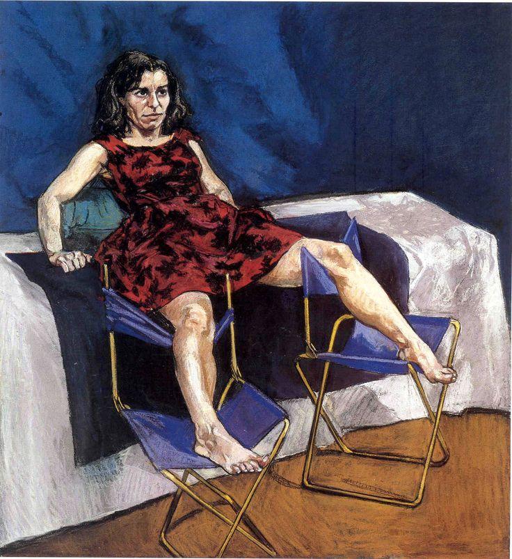 Paula Rego. Untitled No. 5, 1998. Pastel on paper mounted on aluminum, 110 x 100 cm.