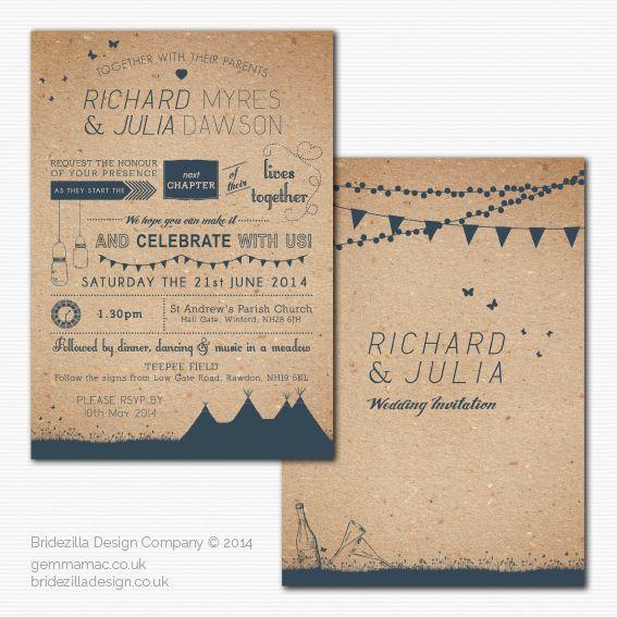 Summer Fete_Tipi Wedding_Invite