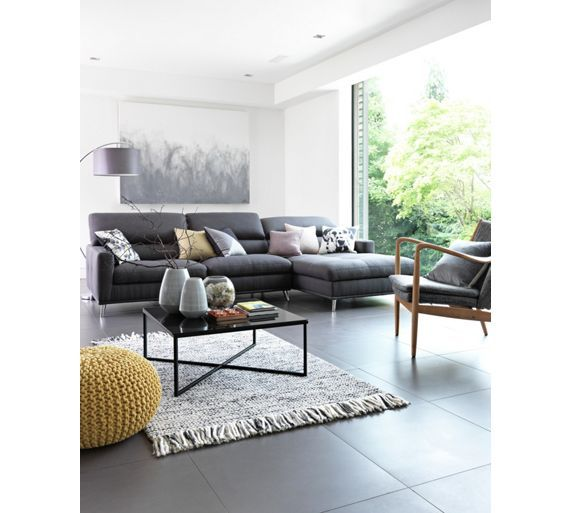 Buy HOME Low Level Chrome Coffee Table - Black at Argos.co.uk - Your Online Shop for Occasional and coffee tables, Coffee tables, sideboards and display units, Home and garden.