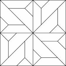 Afbeeldingsresultaat voor quilt geometric pattern