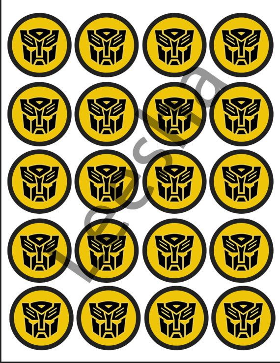 Autobot Tags  Digital File ONLY by LeeshaLooDesignz on Etsy