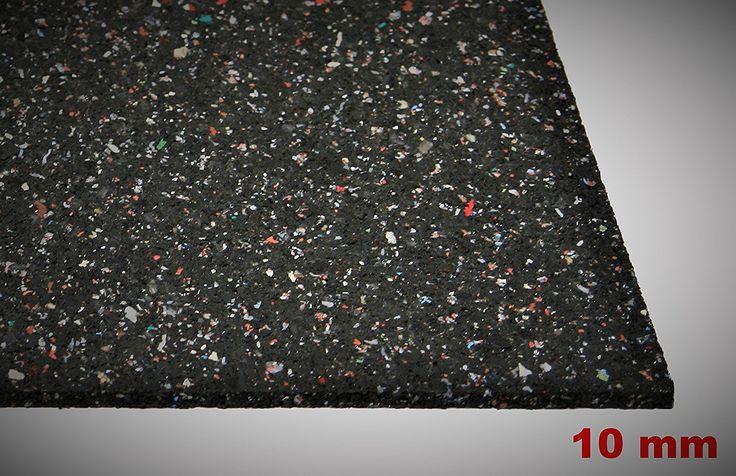 Gummimatte Anti-Vibrationsmatte Antirutschmatte 200 x 125 x 1 cm (Marke: Szagato) (Bautenschutzmatte Gummigranulatmatte Kofferraummatte): Amazon.de: Baumarkt