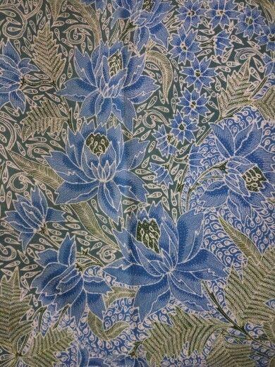 Antique vintage batik Pekalongan.