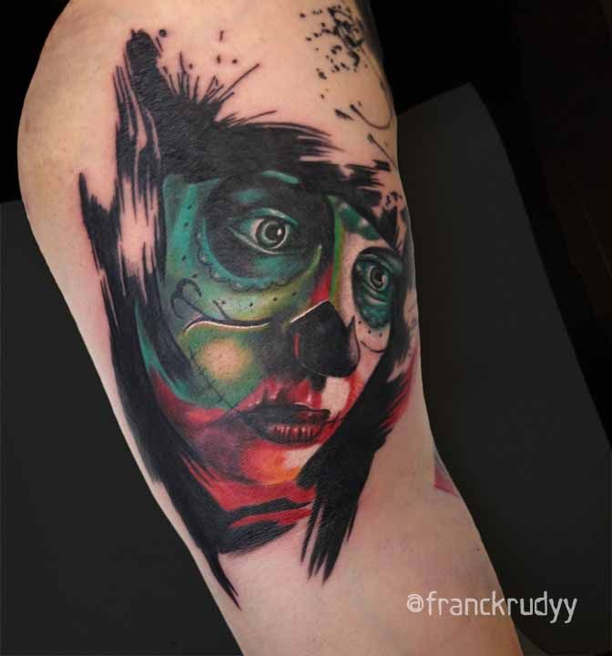 17 Best Images About Tattoos By Frank Rudy On Pinterest