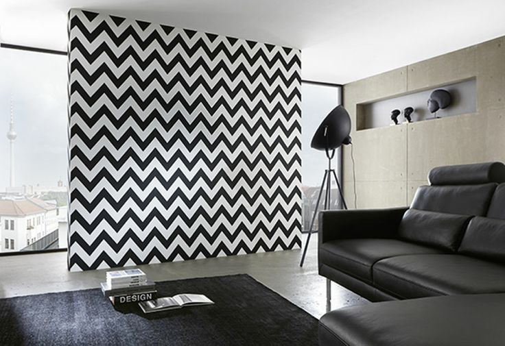 Metropolis #chevron #wallpaper