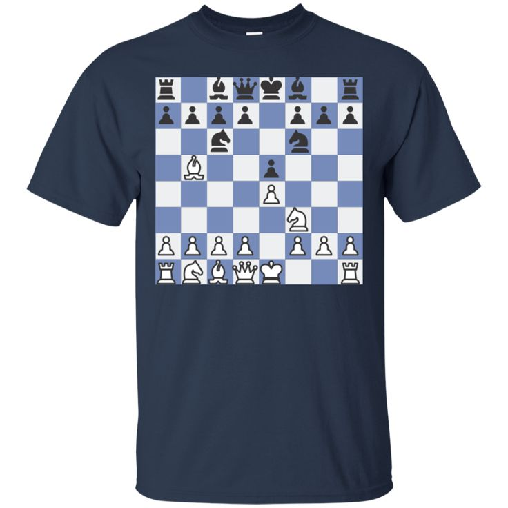 Chess Ruy Lopez - Berlin Defense Cotton T-Shirt
