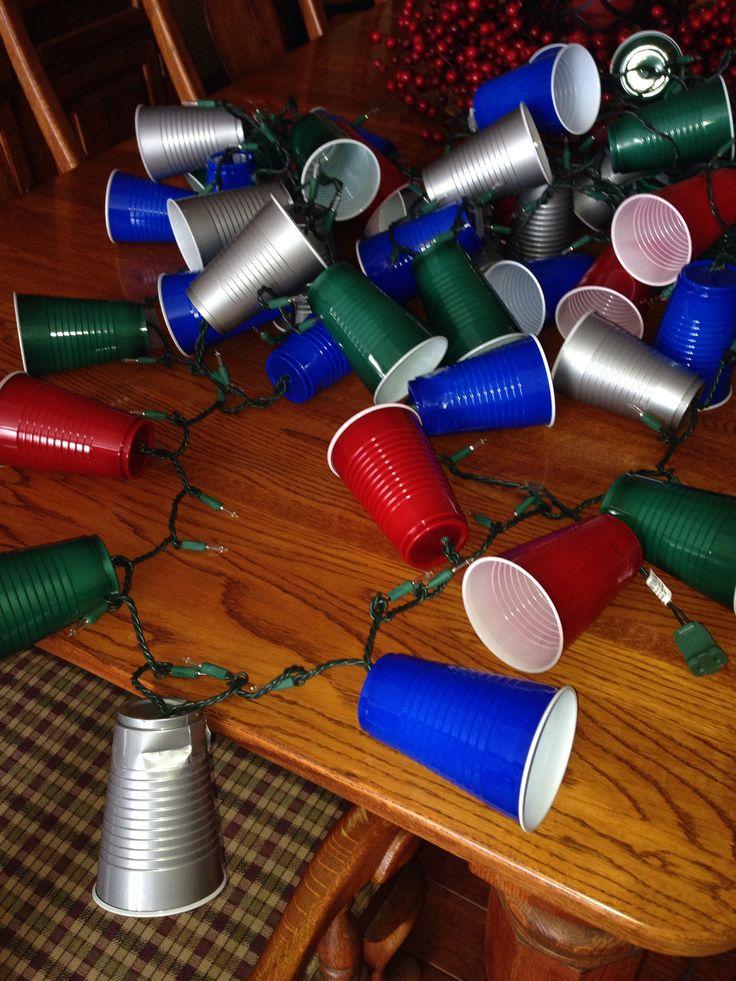 Trailer trash party lights