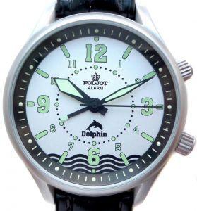 Russian Diving Watch Poljot Alarm Dolphin | MoscowWatch.com