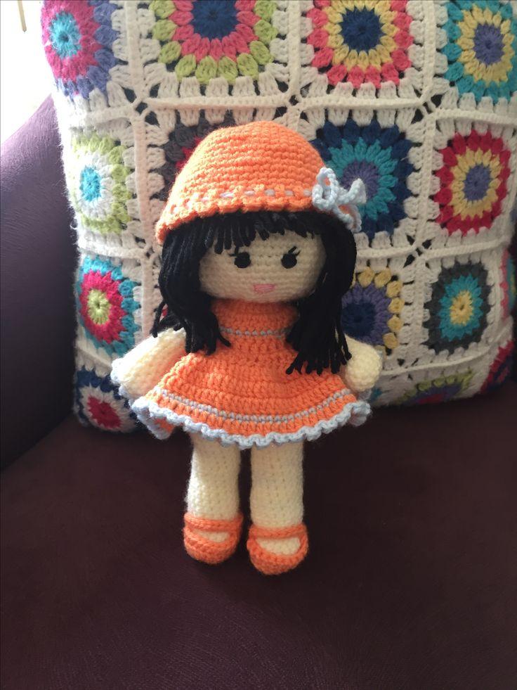 Amigurumi #babydoll #crochet