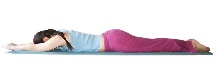 Advasana - Postura Invertida  Es una Asana idónea para descansar tu cuerpo,... www.yogateca.com