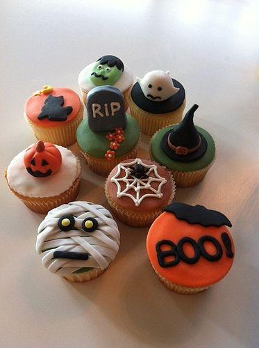 @KatieSheaDesign ♡❤ #CupCakes ❤♡ ♥ ❥ Halloween Cupcakes