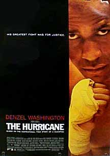 """Directed by Norman Jewison.  With Denzel Washington, Vicellous Shannon, Deborah Kara Unger, Liev Schreiber. The story of Rubin """"Hurricane"""" Carter, a boxer wrongly imprisoned for murder, and the people who aided in his fight to prove his innocence."""