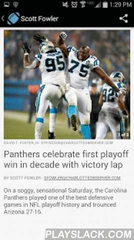 Carolina Panthers News  Android App - playslack.com ,  Follow the Carolina Panthers through the season with exclusive coverage from The Charlotte Observer.