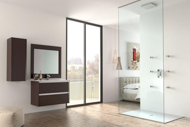 Modelo M10 Bisel laca efecto goma de Grupo Diez. #baños #bain