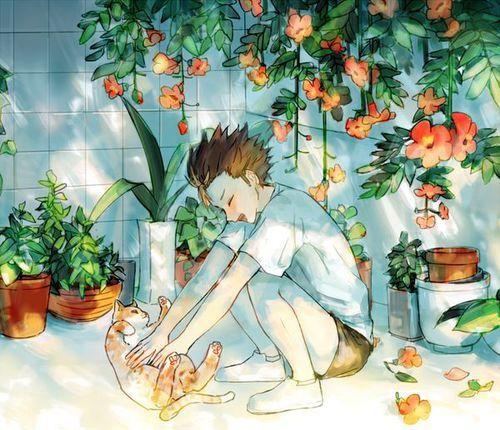 Nishinoya + Neko = Love of my Life - Haikyuu!!