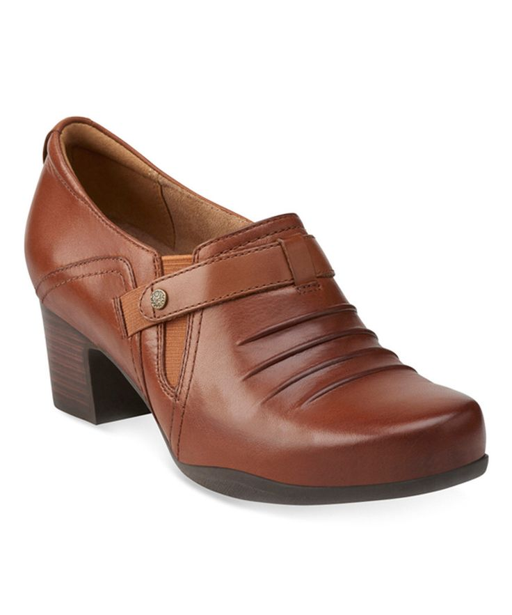 Look at this Dark Tan Rosalyn Nicole Leather Clog on #zulily today!