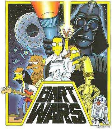 Bart Wars #TheSimpsons #LosSimpson