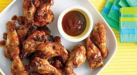 Varomeando: Alitas de pollo con salsa barbacoa