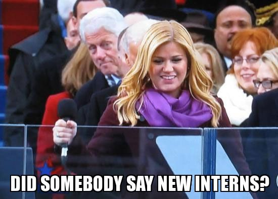 Funny Anti-Liberal Memes and Cartoons: Did somebody Say New Interns