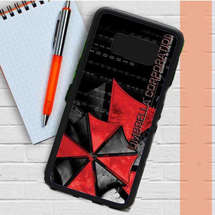 Resident Evil Umbrella Matrix Samsung Galaxy S8 Plus Case Casefreed