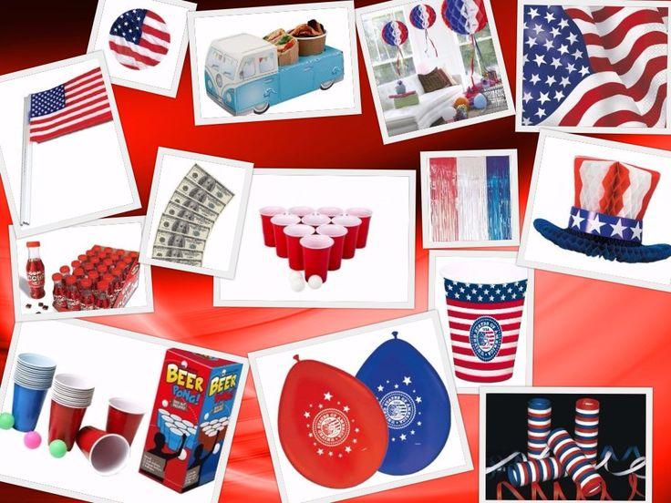 Een American party! Beerpong en leuke USA feestartikelen bij Tuf-Tuf.nl.