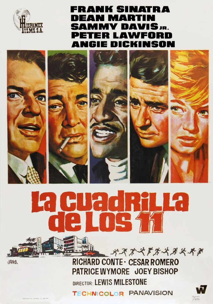 1960 / La cuadrilla de los once - Ocean's Eleven