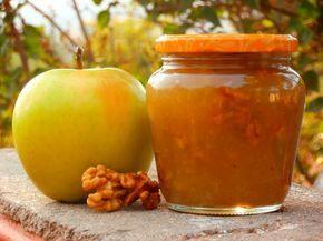 Las recetillas de Isa: Mermelada de manzana y nueces, al wisky
