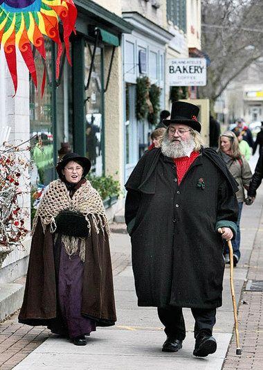 November/December, perfect time to visit Skaneateles, NY Dickens Christmas in Skaneateles