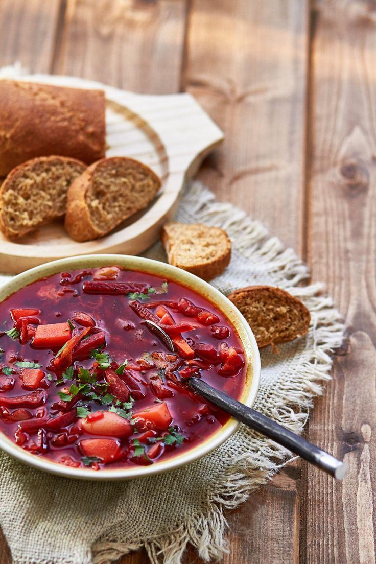 Borcht - Sopa de remolacha rusa
