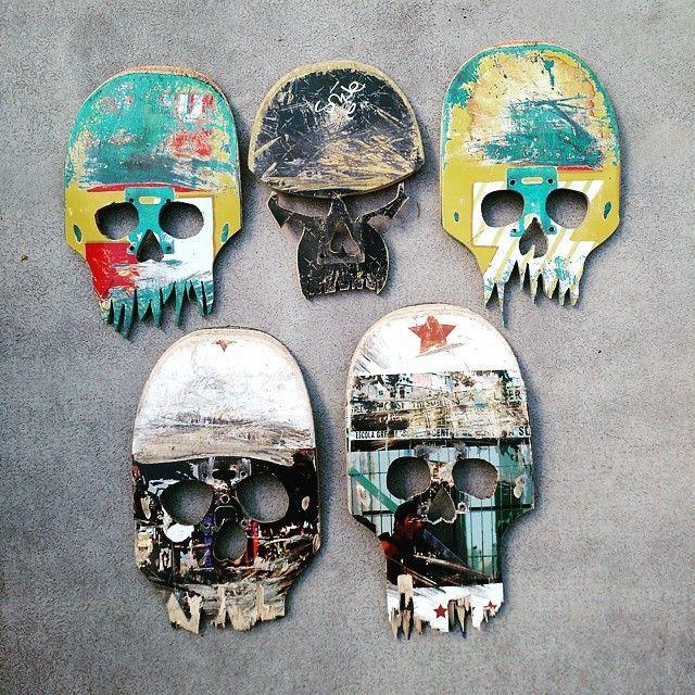 I'm calling them Numb Skulls #reclaimed #DeadSkate #Skateboards #NRC #nanaimo…