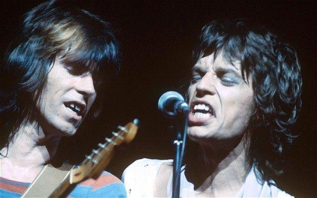 Keith Richards and Mick Jagger, 1972. #KeithRichards #StonesIsm #PattiHansen #MickJagger #CharlieWatts #RonWood #Rock #Legend #Quote #Life #Book