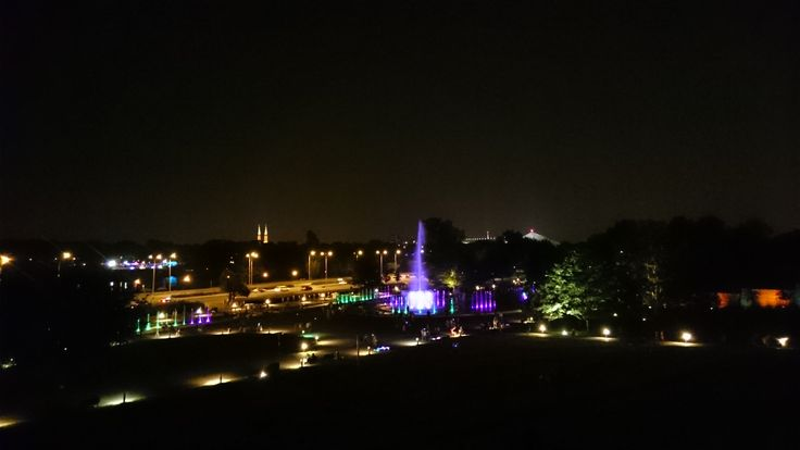 Multimedia Fountain Show, Warsaw