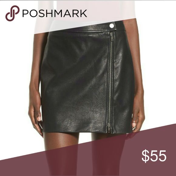 25 best ideas about leather skirts on black
