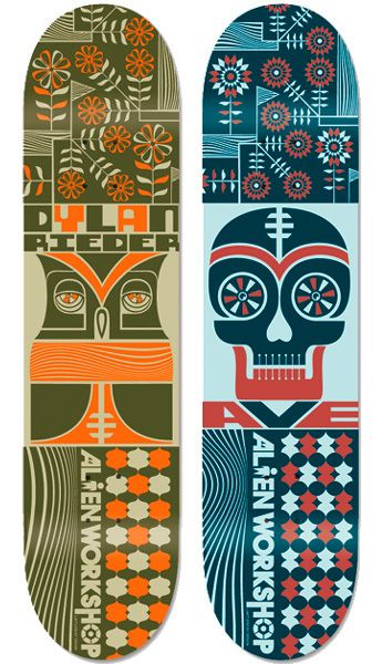 Alien Workshop Skateboards on Behance