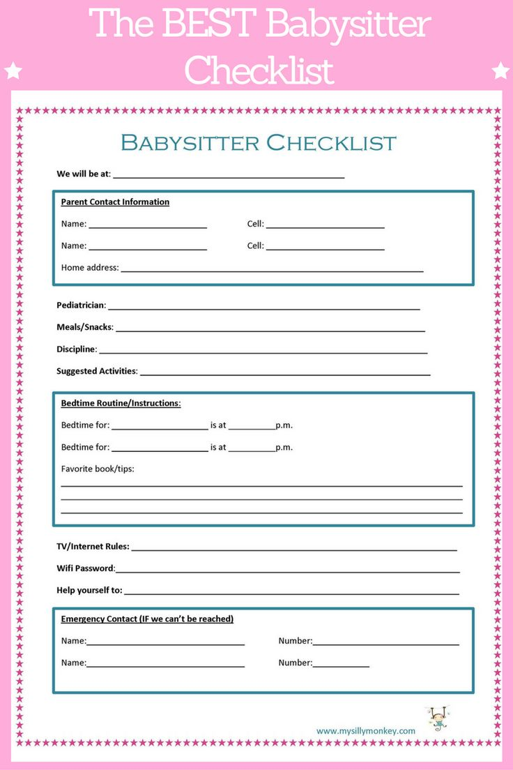 best 25 babysitter checklist ideas on pinterest couple ideas date babysitting and free date ideas - Babysitter Interview Questions For Babysitters