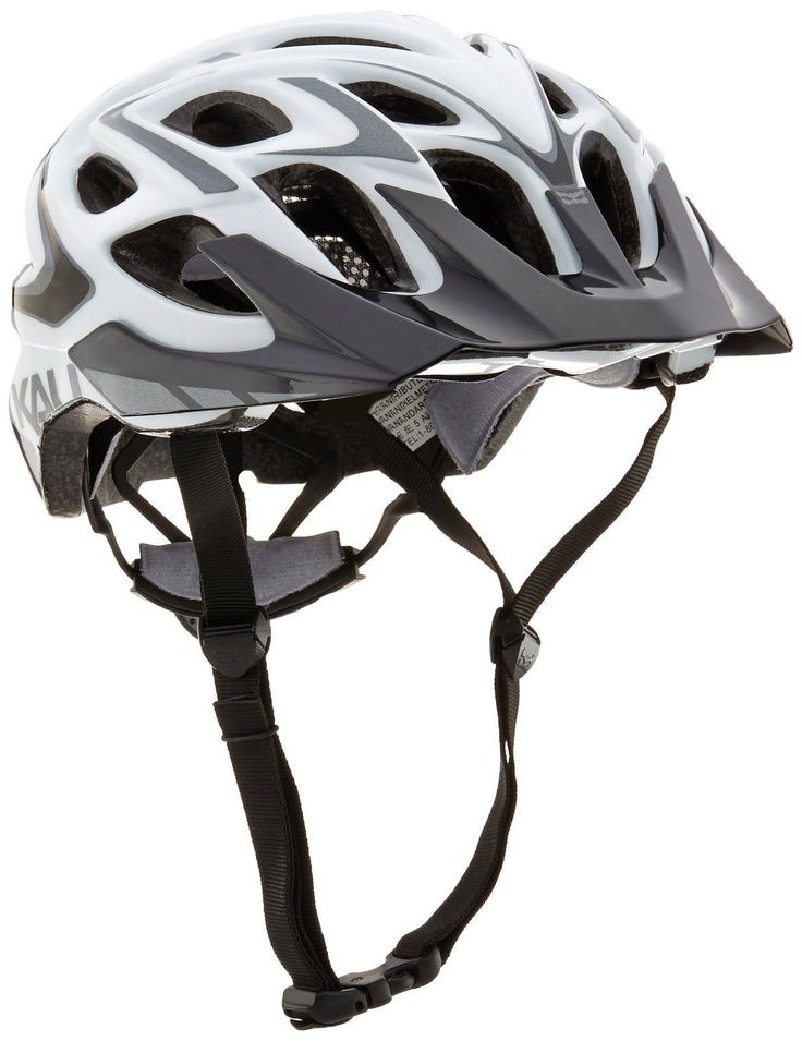 Kali Protectives Chakra Plus Bike Helmet Wisdom White Medium/Large
