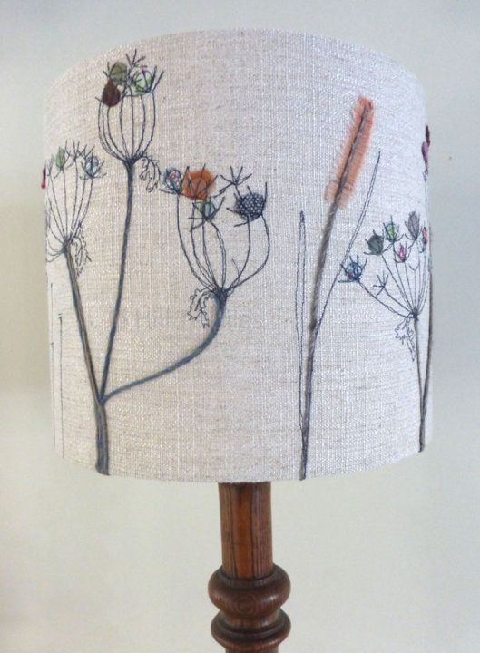 Lampshade Grasses and Seed heads in neutrals