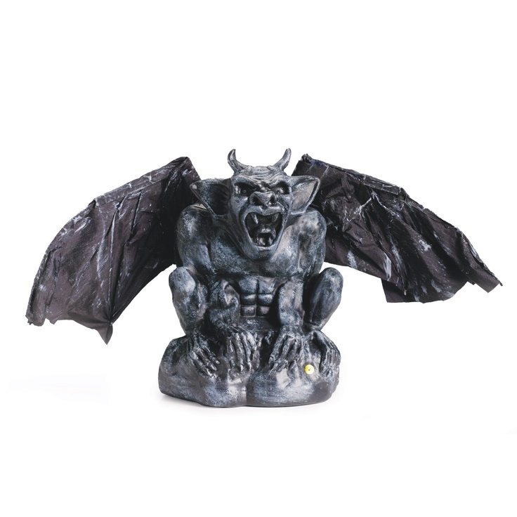 flapping gargoyle animated prop statueshalloween decorations - Halloween Statues