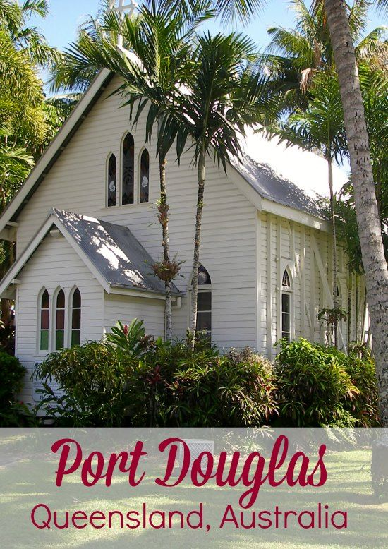 Beautiful Port Douglas. Queensland, Australia. St Mary's church, a great spot for a tropical, water-side wedding. Find out more about Port Douglas and surrounding areas by clicking through to our blog.