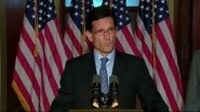 Rep. Cantor fired back at President Obama FridayPresidents Obama, Obama Friday, Cantor Fire, Eric Cantor